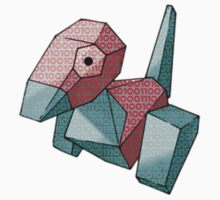 Porygon / Ones and Zeros One Piece - Short Sleeve