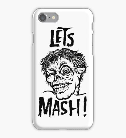 Let's Mash, Zombie! iPhone Case/Skin