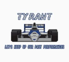TYRANT - SUPER MONACO GP Kids Tee