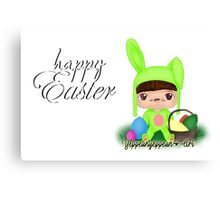 Happy Easter [Party Project] - Original (a) Canvas Print