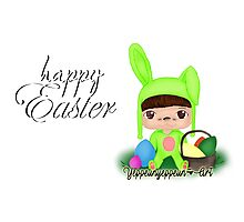 Happy Easter [Party Project] - Original (a) Photographic Print