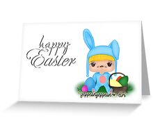 Happy Easter [Party Project] - Original (b) Greeting Card