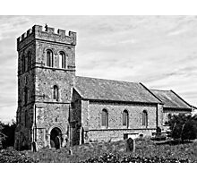 St Laurence Church Falmer Sussex Photographic Print