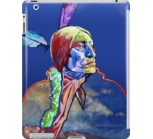 Chief Wolf Robe iPad Case/Skin