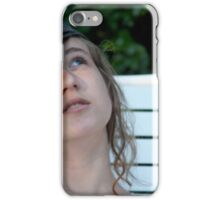 An Angel, Never Trouble iPhone Case/Skin
