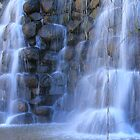 Waterfall Made of Stone by krishoupt