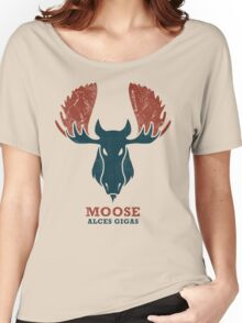 Alaskan Moose - Alces Gigas Women's Relaxed Fit T-Shirt
