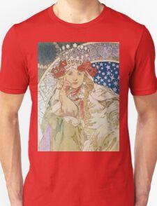 Alphonse Mucha - Princezna Hyacinta Unisex T-Shirt