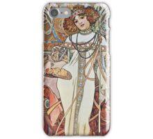 Alphonse Mucha - Pagp Automneautumn iPhone Case/Skin