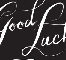 Good Luck (Hands) Sticker