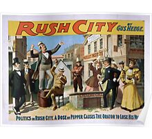 Performing Arts Posters Rush City by Gus Heege 2007 Poster