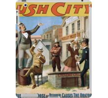 Performing Arts Posters Rush City by Gus Heege 2007 iPad Case/Skin