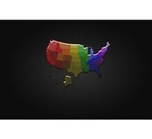 Rainbow States by LiveLoudGraphic