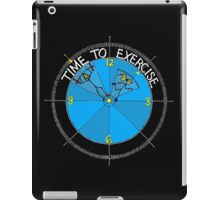 Time To Exercise 2 iPad Case/Skin