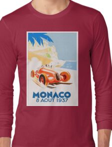 Grand Prix Monaco 1937 Long Sleeve T-Shirt