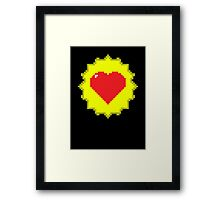 Tank Dodger - Heart Health Love Framed Print
