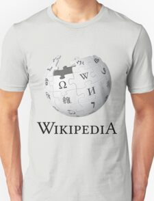 Wikipedia Logo Ultra High Quality Unisex T-Shirt