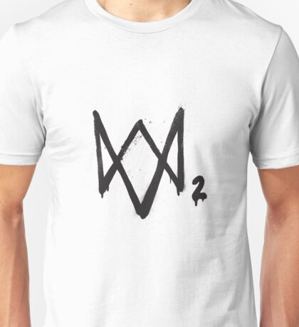 WatchDogs 2 logo Unisex T-Shirt