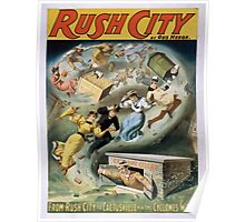 Performing Arts Posters Rush City by Gus Heege 2010 Poster