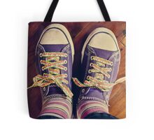shoelaces to make you smile Tote Bag