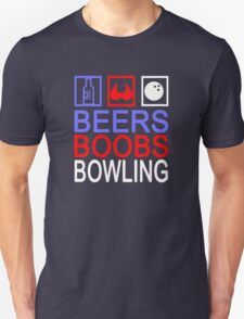Funny Bowling Unisex T-Shirt