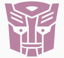 Transformers, Ditto In Disguise Pink Logo Kids Tee