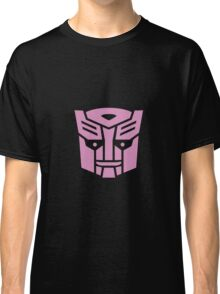 Transformers, Ditto In Disguise Pink Logo Classic T-Shirt
