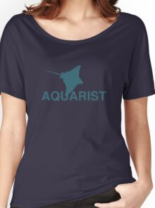 Eagle Ray Aquarist Women's Relaxed Fit T-Shirt
