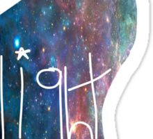 Galaxy Scratch - Flight Sticker