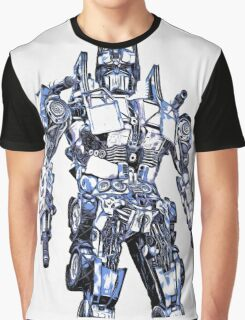 Transformers Optimus Prime Or Orion Pax Graphic Graphic T-Shirt