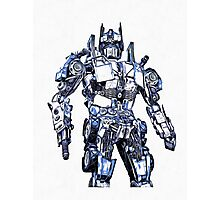 Transformers Optimus Prime Or Orion Pax Graphic Photographic Print
