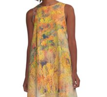 Autumn at Moosehead A-Line Dress