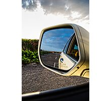 The Rear View Photographic Print