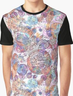 Psychedelic Fish Graphic T-Shirt