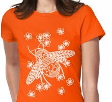 Papercut Bees Womens Fitted T-Shirt
