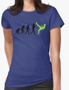 Zlatan Ibrahimovic Evolution Womens Fitted T-Shirt