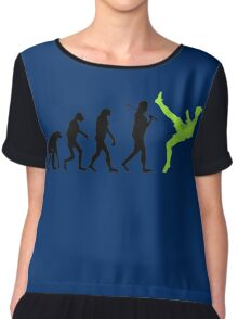 Zlatan Ibrahimovic Evolution Chiffon Top