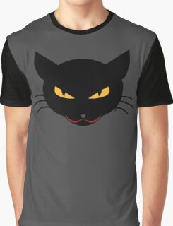 Evil Kitty Graphic T-Shirt