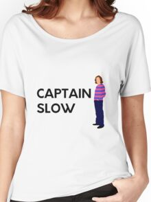 """James May """"Captain slow"""" original design Women's Relaxed Fit T-Shirt"""