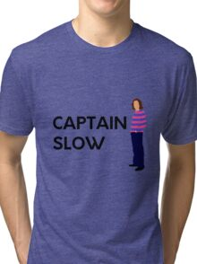 "James May ""Captain slow"" original design Tri-blend T-Shirt"