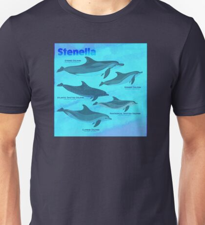 Know Your Stenella Dolphins Unisex T-Shirt