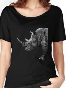 SAFARI PROFILE - RHINO BLACK EDITION Women's Relaxed Fit T-Shirt