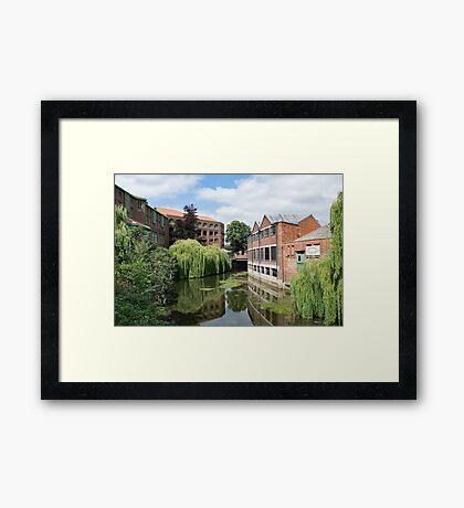 River Foss York Framed Print