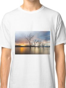 Wyaralong Dam Sunset Classic T-Shirt