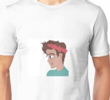 Flower Crown Boy Unisex T-Shirt