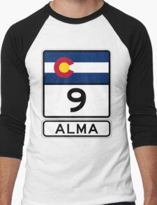 CO-9 Alma Colorado Men's Baseball ¾ T-Shirt
