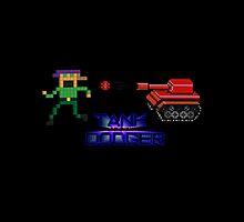 Tank Dodger - Running man by hadosabi