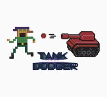 Tank Dodger - Running man Kids Clothes