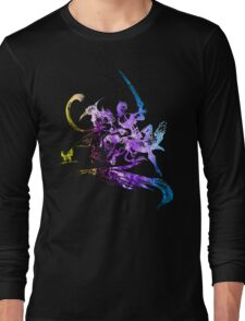 Final Fantasy X-2 logo universe Long Sleeve T-Shirt