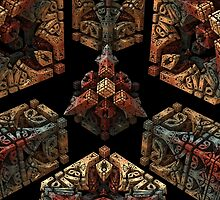 Stone Carved Fractal. by Sidicus